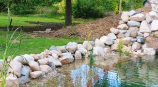 Un chantier école fédérateur: création d'une baignade naturelle