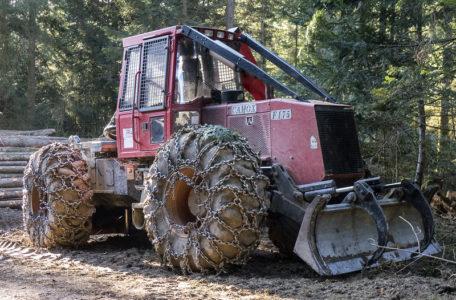 Débardage Tracteur