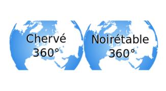 Visite Virtuelle 360° Site de Chervé et de Noirétable 2021
