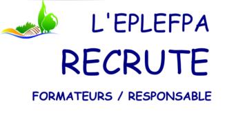 OFFRES D'EMPLOIS A L'EPLEFPA ROANNE CHERVÉ NOIRÉTABLE